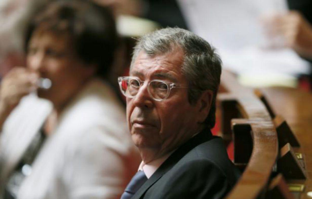 Le député-maire Les Républicains de Levallois-Perret (Hauts-de-Seine) Patrick Balkany à l'Assemblée nationale à Paris le 23 juin 2015 – PATRICK KOVARIK AFP