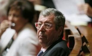 Le député-maire Les Républicains de Levallois-Perret (Hauts-de-Seine) Patrick Balkany à l'Assemblée nationale à Paris le 23 juin 2015