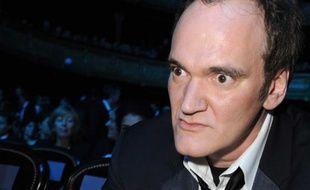 Quentin Tarantino à la 36e cérémonie des César, le 25 février 2011 à Paris