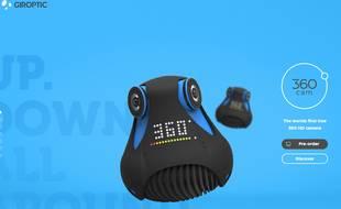 La 360Cam, nouveau joujou de la société lilloise Giroptic.