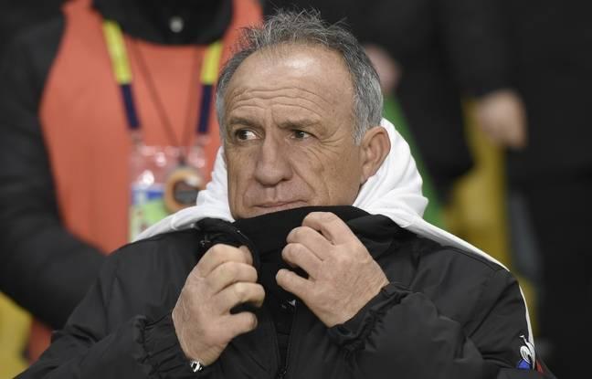 Ghislain Printant, ici lors du match de Ligue 1 entre Nantes et l'ASSE en janvier.