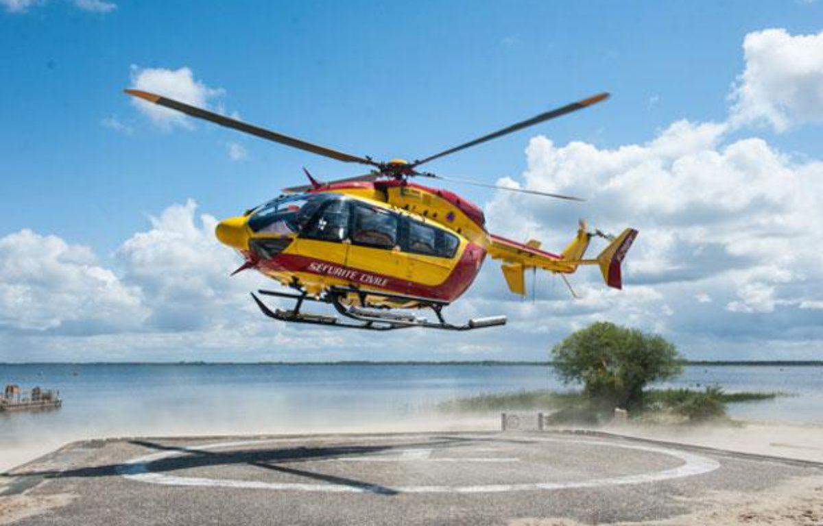 L'hélicoptère Dragon 33, de la sécurité civile de Gironde – S.ORTOLA/20MINUTES