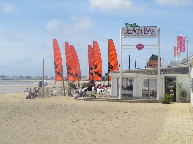 Un bar de plage à La Baule