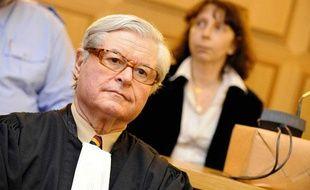 Xavier Magnée, l'avocat du père du petit Younès, le 15 décembre 2008 à la cour d'assises de Nivelles en Belgique.