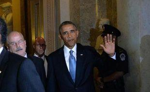 Le président Barack Obama a demandé du temps mardi aux sénateurs américains pour évaluer la crédibilité d'un éventuel plan international visant à neutraliser le stock d'armes chimiques syriennes, repoussant tout vote au Sénat au moins à la semaine prochaine.