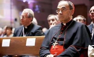 Le cardinal Philippe Barbarin, le 11 mai 2013 à Lyon.