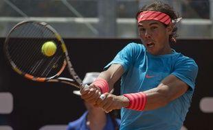 Rafael Nadal à Rome le 14 mai 2015.