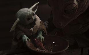 Bébé Yoda, toujours aussi mignon dans «The Mandalorian»