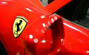 Le constructeur italien de voitures de sports de luxe Ferrari, filiale de Fiat Chrysler Automobiles (FCA), devrait valoir près de 10 milliards de dollars en Bourse
