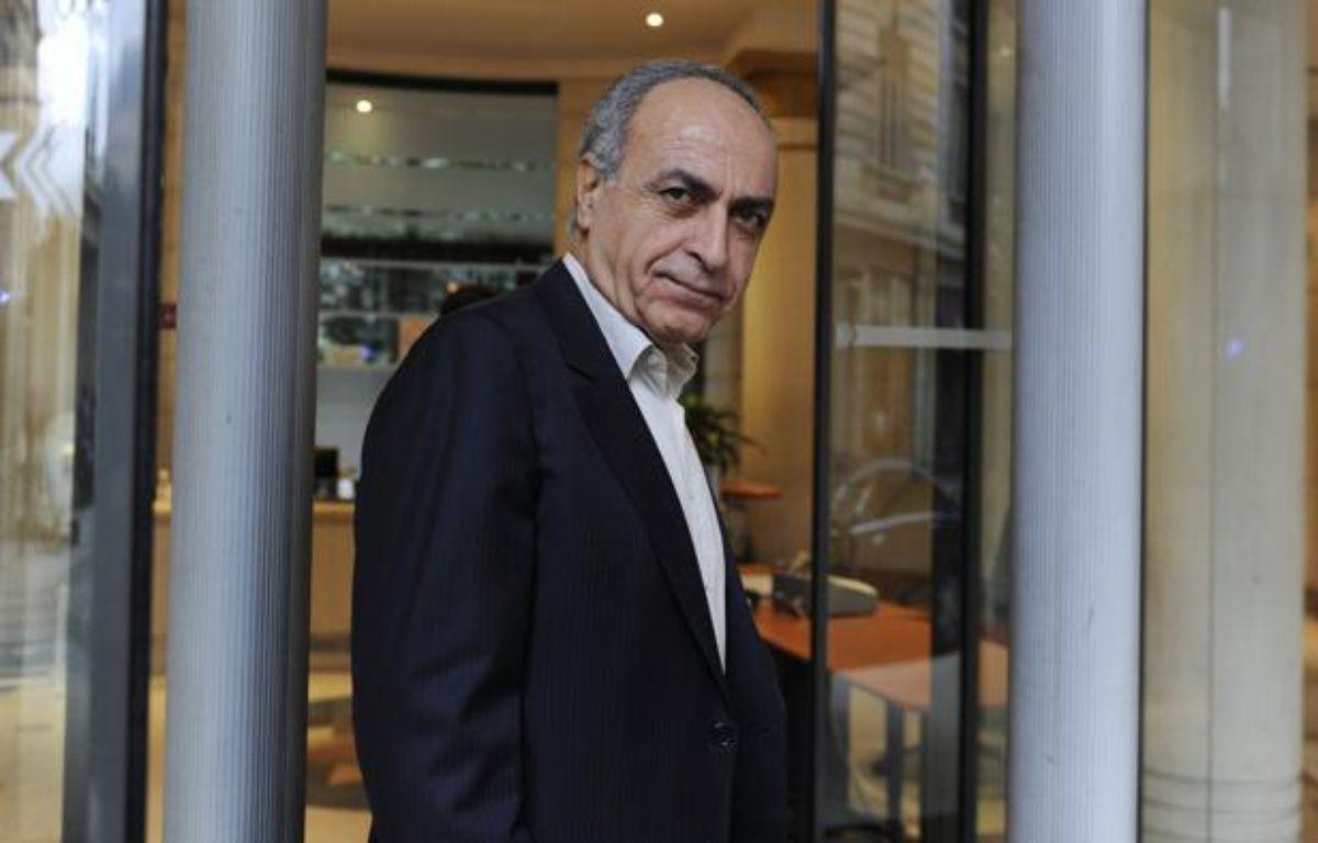 L'homme d'affaires franco-libanais, Ziad Takieddine, le 5 octobre 2011 à Paris. – G.FUENTES / REUTERS