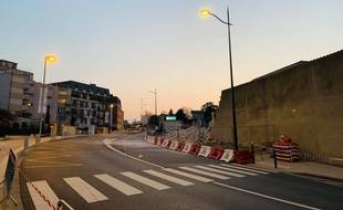 Le mur de la maison d'arrêt de Poissy effondré jeudi 28 mars