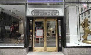 Le magasin Nintendo à New York, le 9 mai 2020 (illustration).