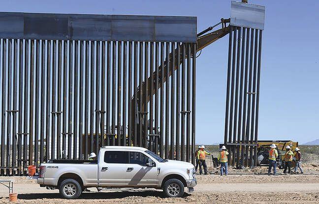 Etats-Unis: Près de 500 km de mur ont-ils été construits à la frontière avec le Mexique, comme l'affirme Donald Trump?