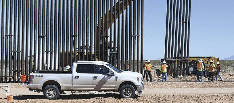 Une section du mur en Arizona, le 24 mars.