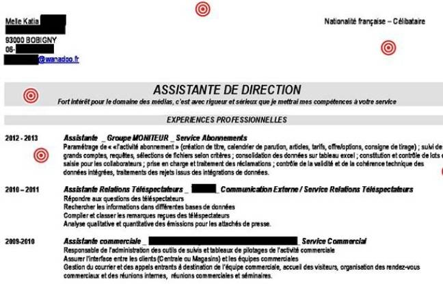 exemple cv assistant de direction