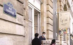 L'épicerie solidaire Epi'Sol dans le 5e arrondissement. Crédits : Nicolas Marques Cithéa