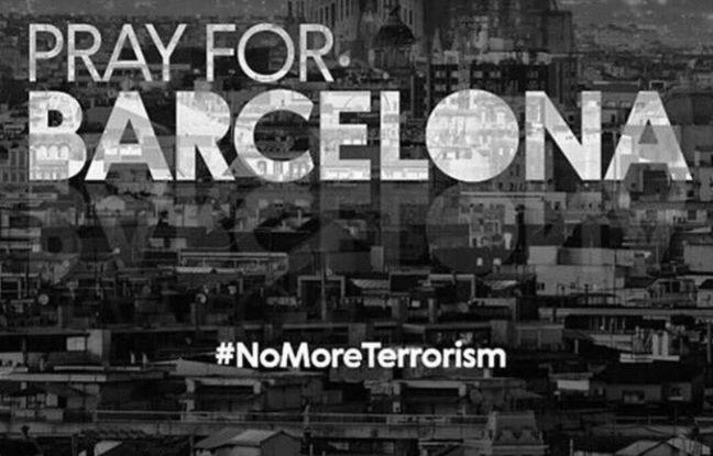 Attentats en Catalogne: De Neymar à Unai Emery, le PSG rend hommage aux victimes de Barcelone
