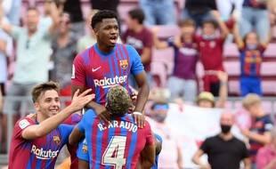 Ansu Fati a marqué pour son grand retour de blessure avec le Barça.