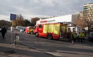 L'accident s'est déroulé dans le 13e arrondissement.