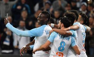 Mario Balotelli célèbre son but face à Saint-Etienne, le 3 mars  2019.