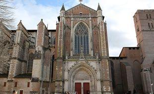 """Cette voie menant à la cathédrale de Toulouse va prendre le nom d""""allée du Colonel Arnaud-Berltrame et du Père Jacques Hamel."""