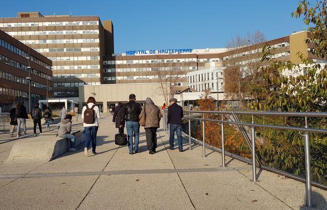 Strasbourg: Six mois ferme pour crachats et menaces de mort à l'encontre d'employés du CHU