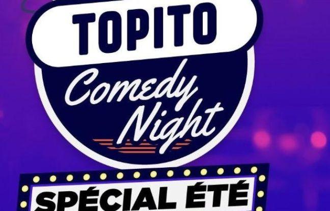 Visuel officiel de la soirée spéciale été de Topito, au Point Virgule