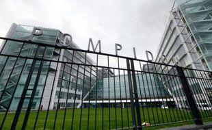 L'hôpital Georges Pompidou à Paris le 7 novembre 2014