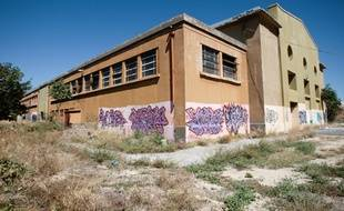L'emplacement ou devait se réaliser la grande mosquée de Marseille située sur les anciens abattoirs dans les quartiers nord de Marseille