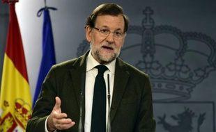 Le Premier ministre espagnol Mariano Rajoy, le 30 octobre 2015, à Madrid