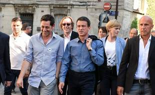Manuel Valls à Avignon le 19 juillet 2015.