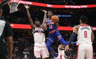 Frank Ntilikina a réalisé de bonnes apparitions en pré-saison avec les Knicks.