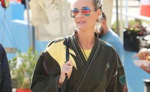 Laeticia Hallyday le 21 janvier 2018 à Los Angeles