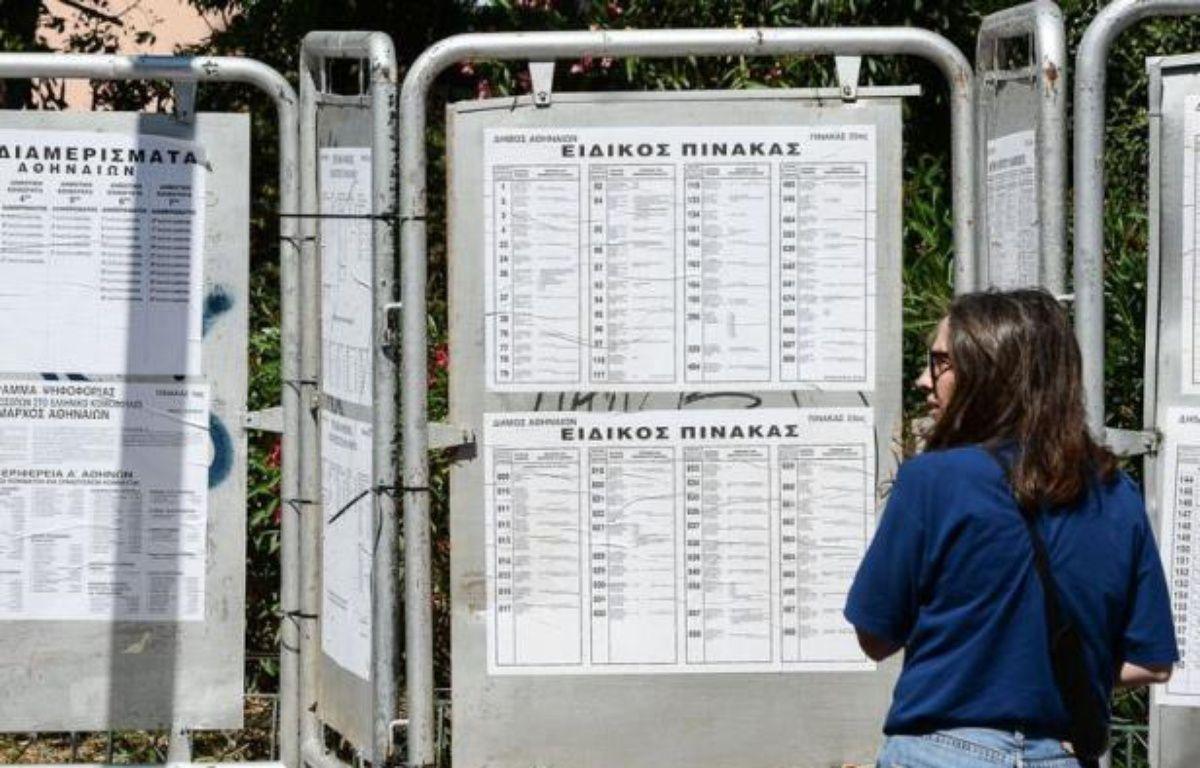 Les électeurs grecs tenaient le monde en haleine samedi, à la veille de législatives cruciales pour la marche économique du pays et son maintien dans l'euro. – Andreas Solaro afp.com