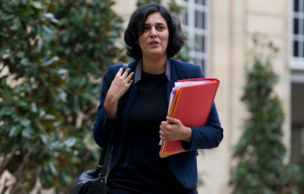 La ministre du Travail, Myriam El Khomri, le 18 février 2016 à Matignon – KENZO TRIBOUILLARD AFP
