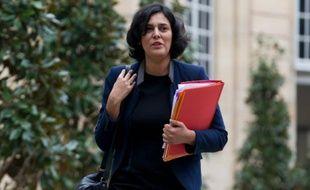 La ministre du Travail, Myriam El Khomri, le 18 février 2016 à Matignon