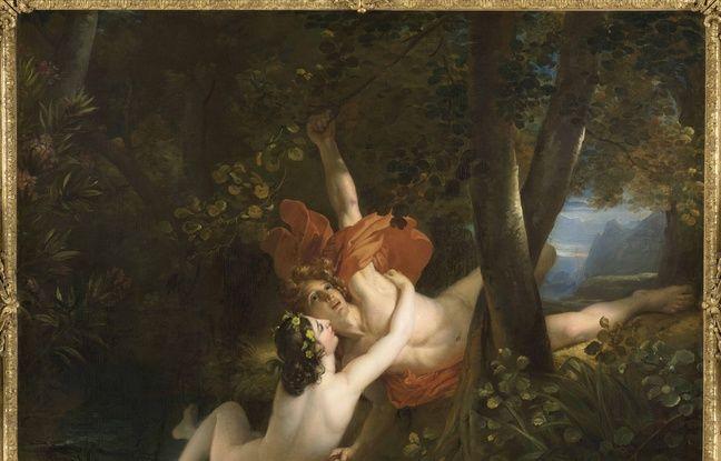 Hylas et la nymphe, de François Gérard (1826)