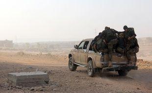 Des combattants du front Al-Nosra, devenu Fateh al-Cham, en Syrie le 6 août 2016.