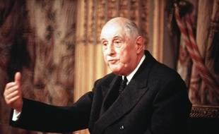 Le général de Gaulle.