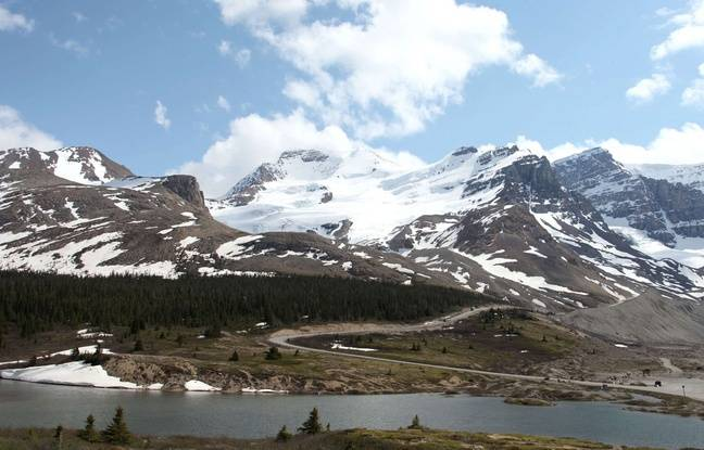 Les montagnes Rocheuses au Canada.