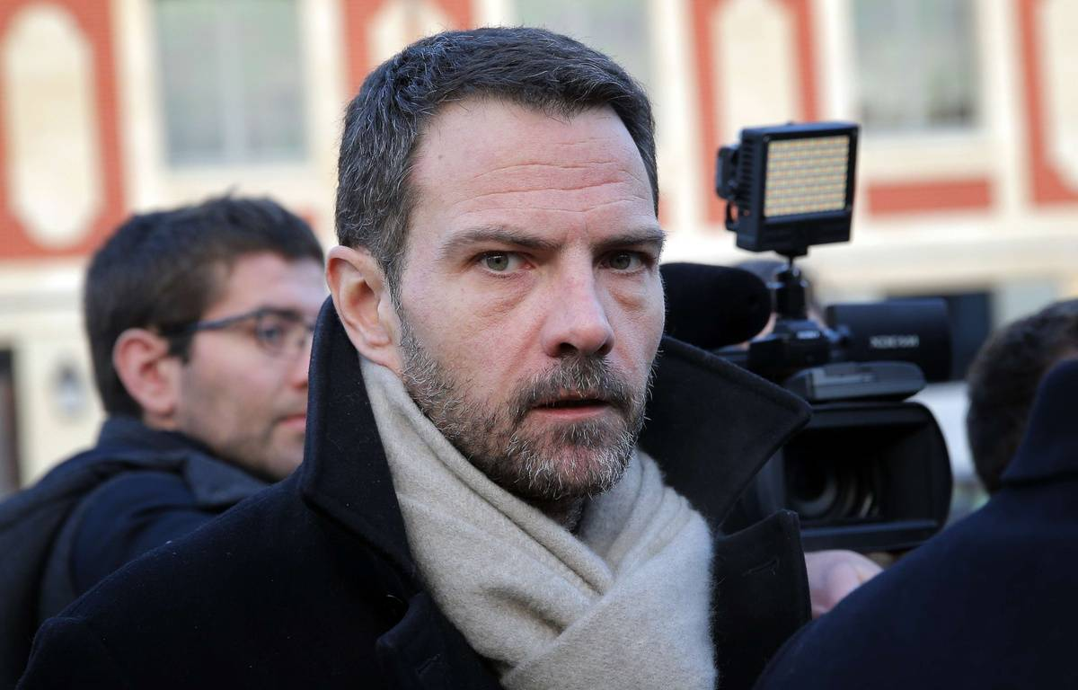 L'ancien trader de la Société Générale, Jérome Kerviel, le 20 janvier 2016 devant le tribunal de Versailles. – Christophe Ena/AP/SIPA