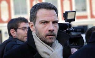 L'ancien trader de la Société Générale, Jérome Kerviel, le 20 janvier 2016 devant le tribunal de Versailles.