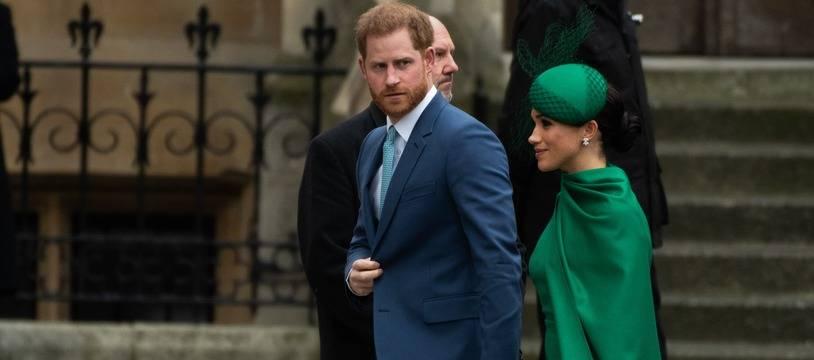 Le prince Harry et son épouse, Meghan Markle