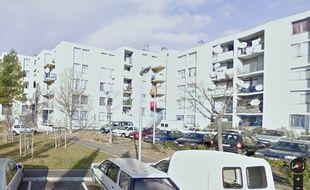 Capture Google Maps de la rue d'Oran à Béziers où des réfugiés ont nettoyé la rue dimanche dernier.