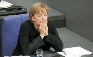 La chancelière Angela Merkel a gagné contre les eurosceptiques qui rejetaient ses plans d'aide.
