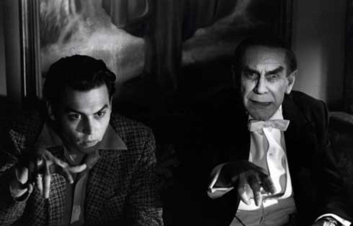 Johnny Depp et Martin Landau dans Ed Wood de Tim Burton – Walt Disney Comany France