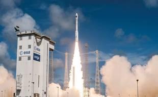 Décollage d'une fusée Vega en décembre 2016 (illustration).