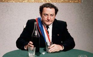 Coluche, alors candidat à la présidentielle de 1981.