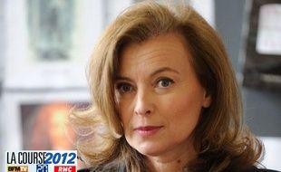 Valérie Trierweiler, la compagne de François Hollande.