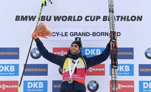 Martin Fourcade remporte la mass start du Grand-Bornand